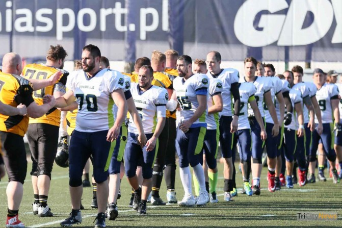 Seahawks Gdynia – Cowbells Budapest photo Luca Aliano Tricity News-24