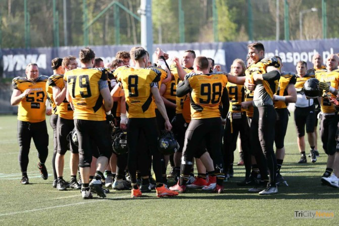 Seahawks Gdynia – Cowbells Budapest photo Luca Aliano Tricity News-26
