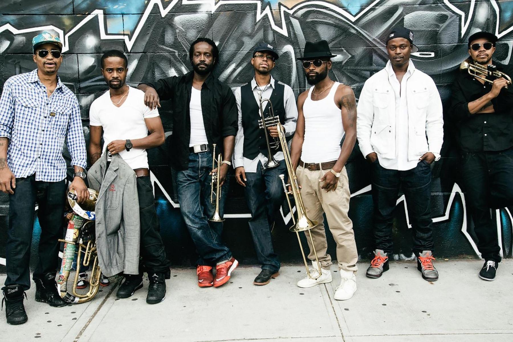Hypnotic Brass Ensemble, photo source: Atlantic