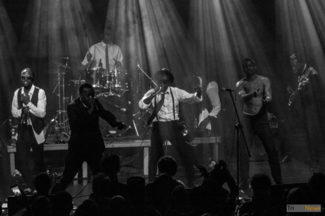 Hypnotic Brass Ensemble at Atlantic Gdynia club photo Jakub Wozniak Tricity News-14
