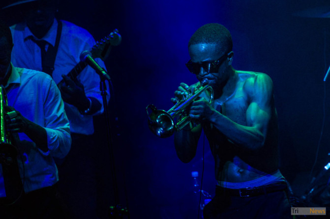 Hypnotic Brass Ensemble at Atlantic Gdynia club photo Jakub Wozniak Tricity News-16