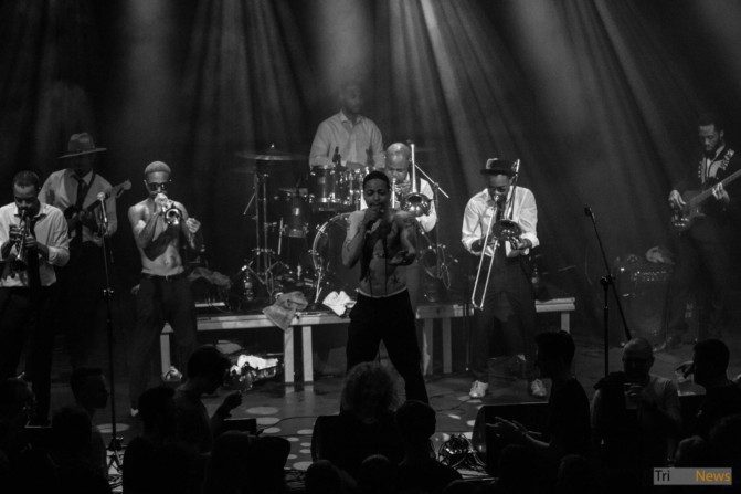 Hypnotic Brass Ensemble at Atlantic Gdynia club photo Jakub Wozniak Tricity News-19