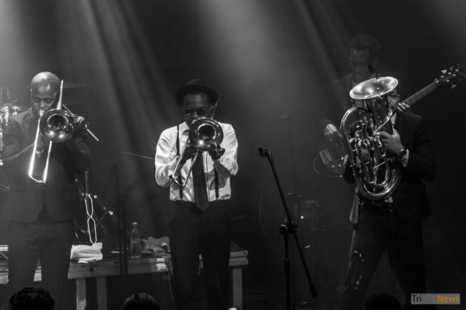 Hypnotic Brass Ensemble at Atlantic Gdynia club photo Jakub Wozniak Tricity News-3