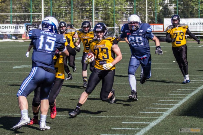 Seahawks Gdynia – Warsaw Sharks photo Jakub Wozniak Tricity News-12