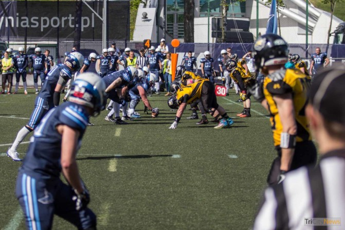 Seahawks Gdynia – Warsaw Sharks photo Jakub Wozniak Tricity News-19