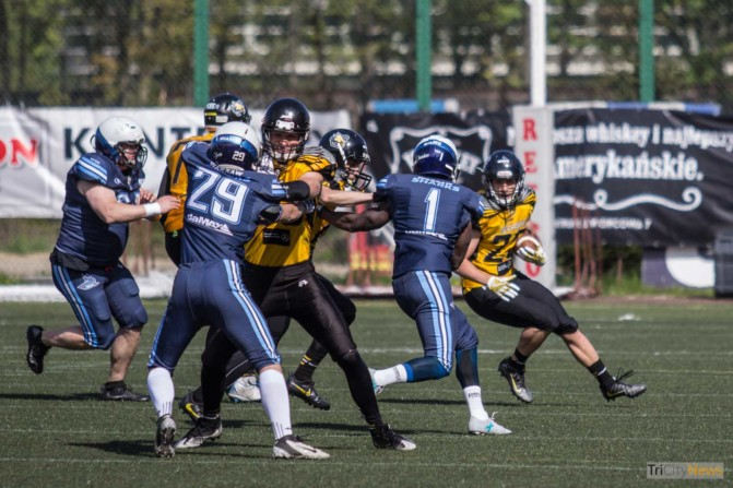 Seahawks Gdynia – Warsaw Sharks photo Jakub Wozniak Tricity News-21