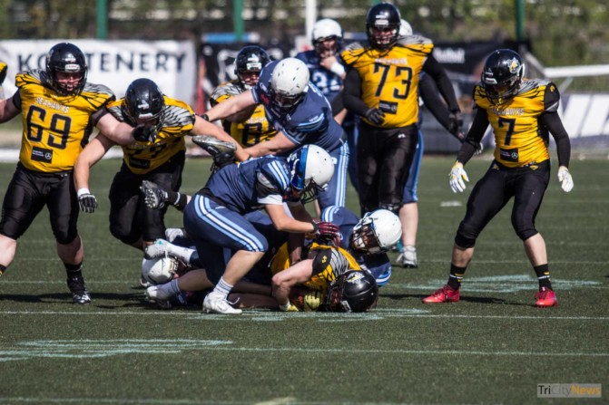 Seahawks Gdynia – Warsaw Sharks photo Jakub Wozniak Tricity News-22