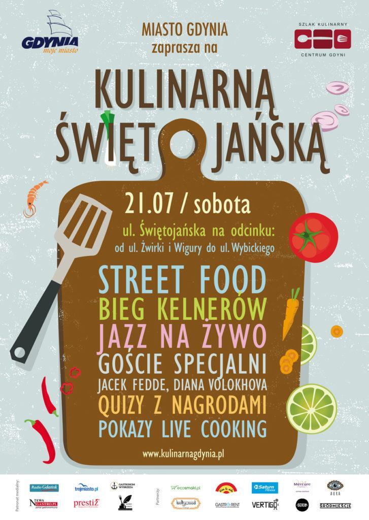 Culinary Swietojanska Poster (in Polish), source: Organizers