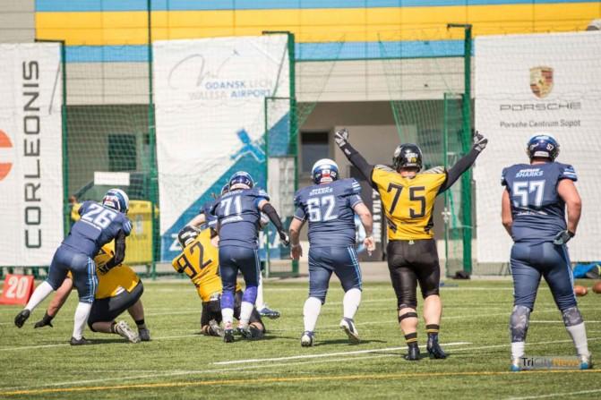 Seahawks Gdynia – Warsaw Sharks photo Luca Aliano Tricity News-16