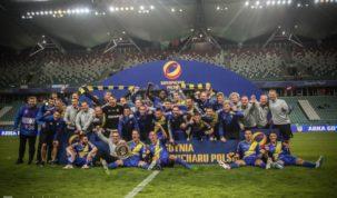 Arka Gdynia winning Polish Super Cup 2018, photo source: www.arka.gdynia.pl, author: Wojciech Szymański