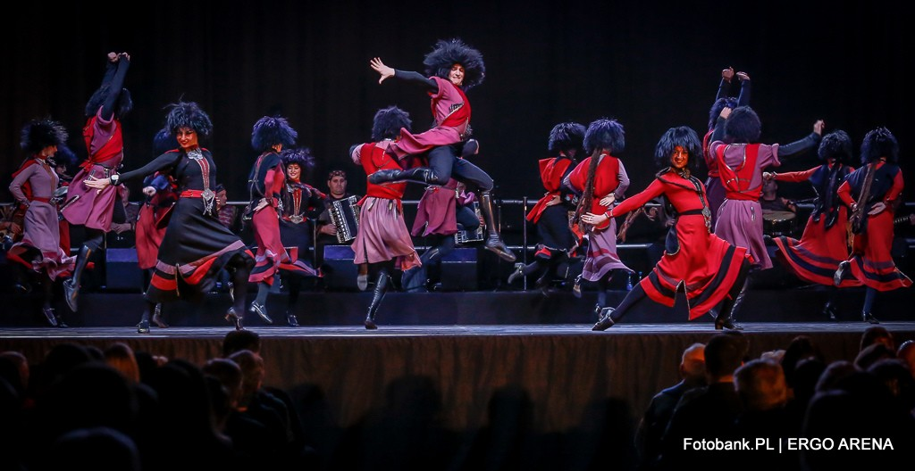 Sukhishvili Georgian National Ballet, photo source: Press releases, Ergo Arena