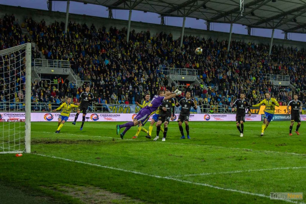 Arka Gdynia - Korona Kielce, photo: Jakub Wozniak/Tricity News