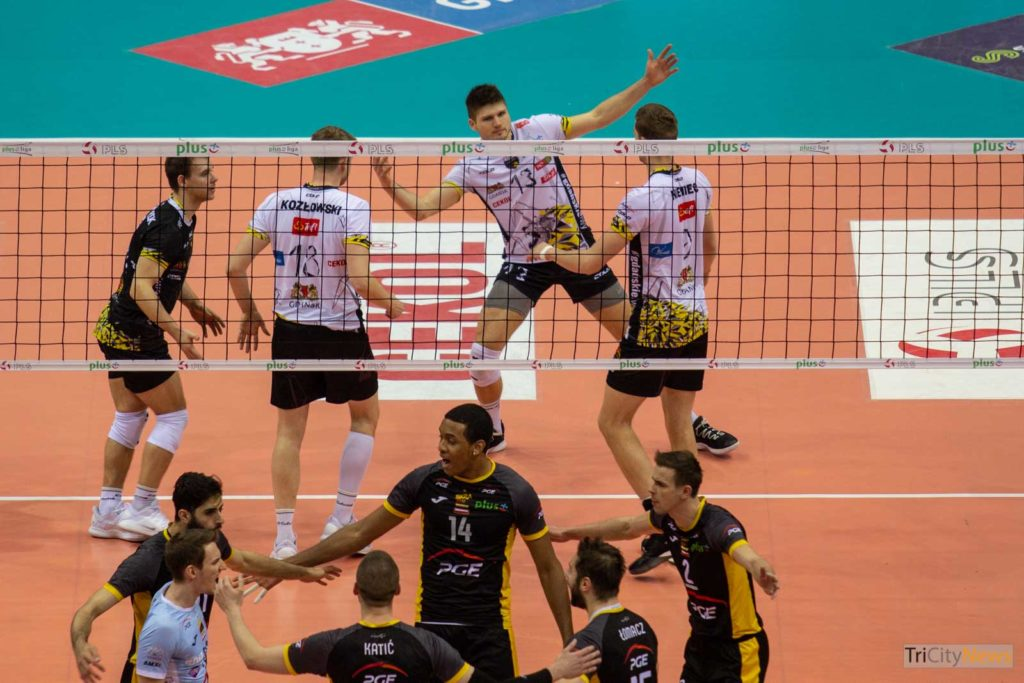 Trefl Gdansk - PGE Skra Belchatow, photo: Jakub Wozniak/Tricity News
