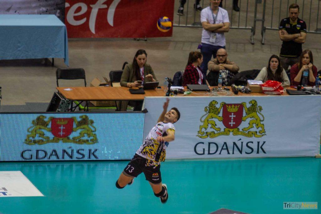 Trefl Gdansk - ZAKSA Kedzierzyn Kozle, photo: Barbara Seleman/Tricity News