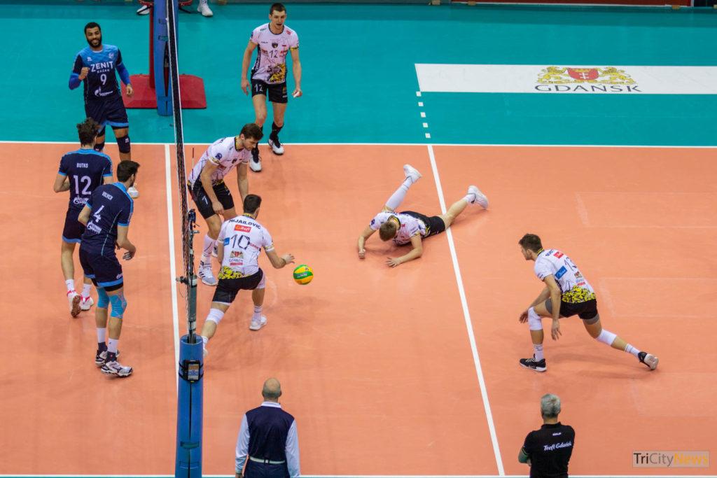 Trefl Gdansk - Zenit Kazan, photo: Jakub Wozniak/Tricity News