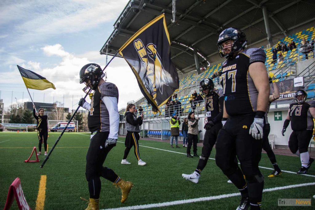 Seahawks Gdynia - Tychy Falcons, photo: Jakub Wozniak/Tricity News