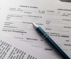 Rental Agreement, photo: Jakub Woźniak/Tricity News