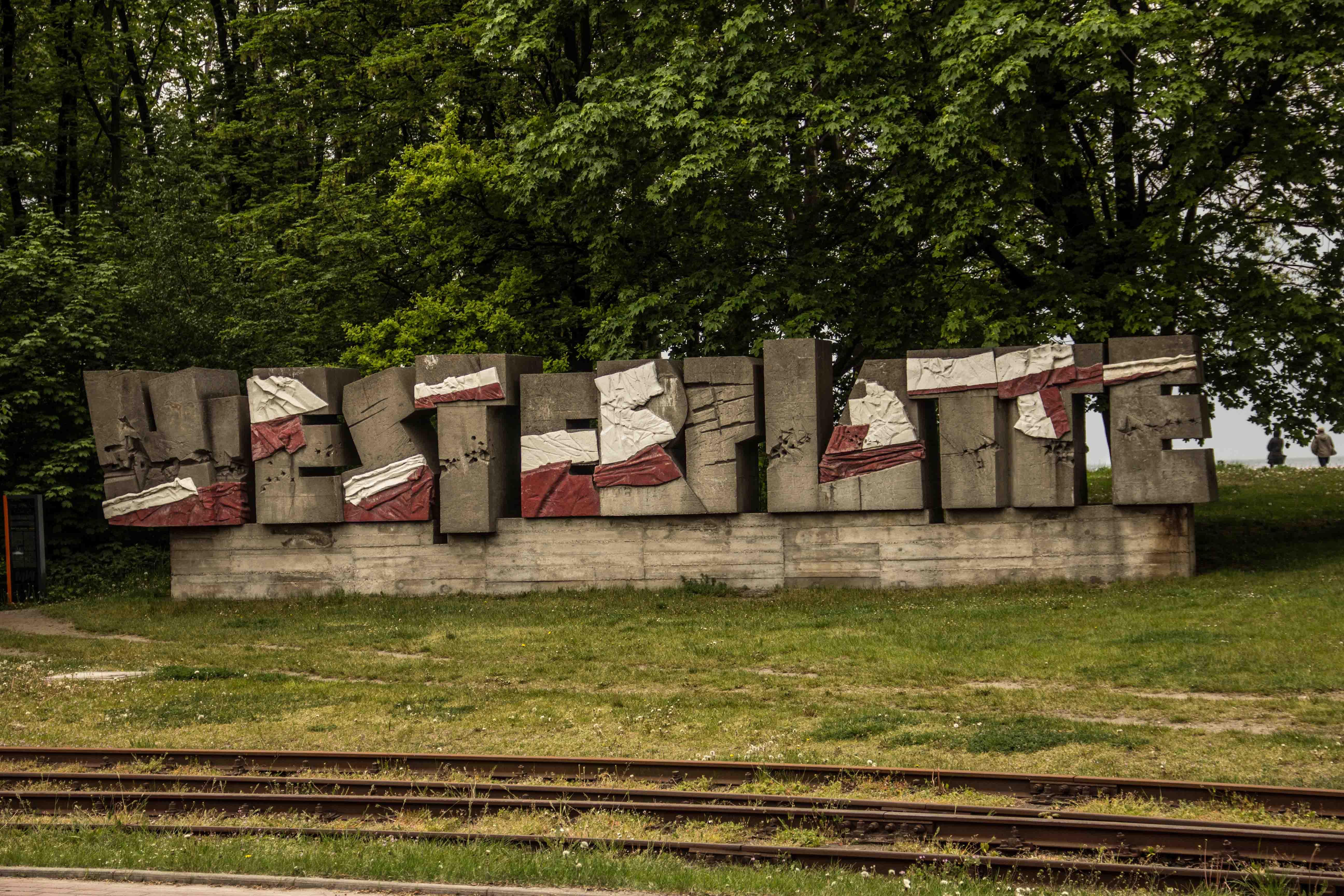 Westerplatte sign, photo: Jakub Wozniak/Tricity News