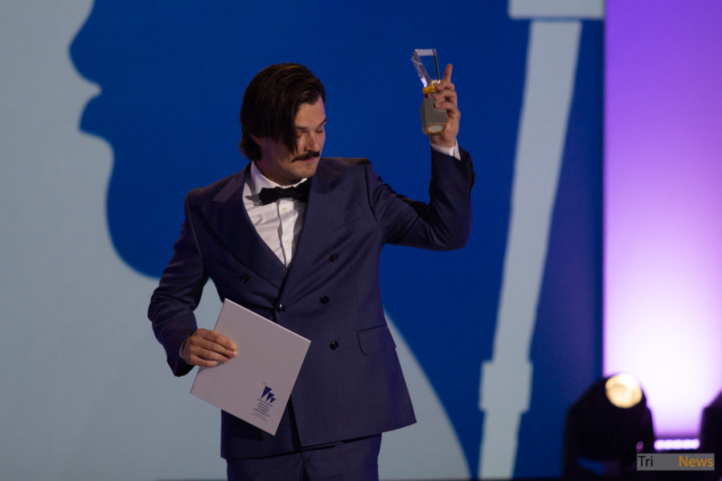 Dawid Ogrodnik at the 44th Polish Film Festival in Gdynia, photo: Jakub Wozniak/Tricity News