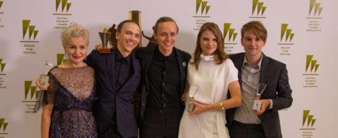 Corpus Christi crew at The 44th Polish Film Festival in Gdynia, photo: Jakub Wozniak/Tricity News