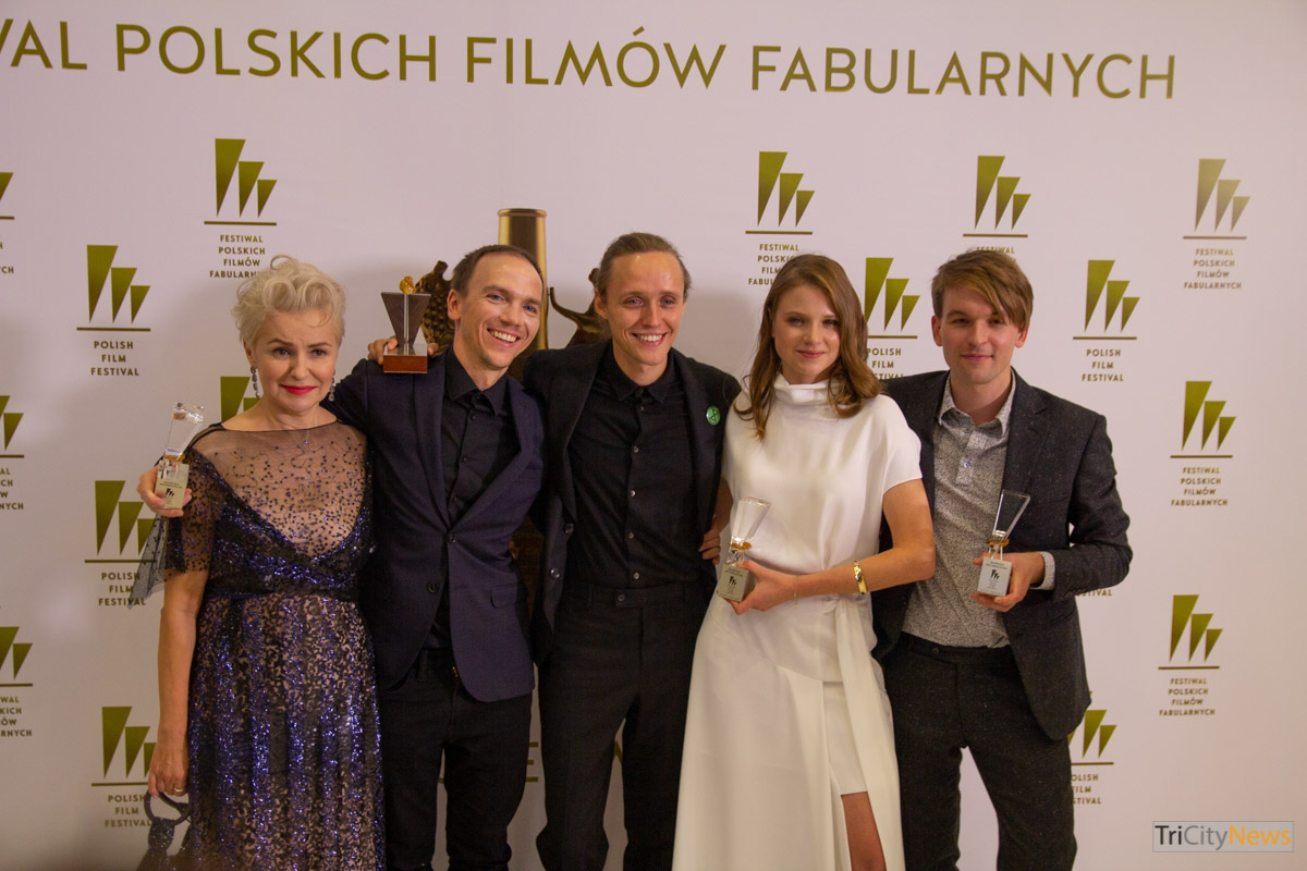 Corpus Christi crew at The 44th Polish Film Festival in Gdynia, photo: Jakub Wozniak/Tricity News