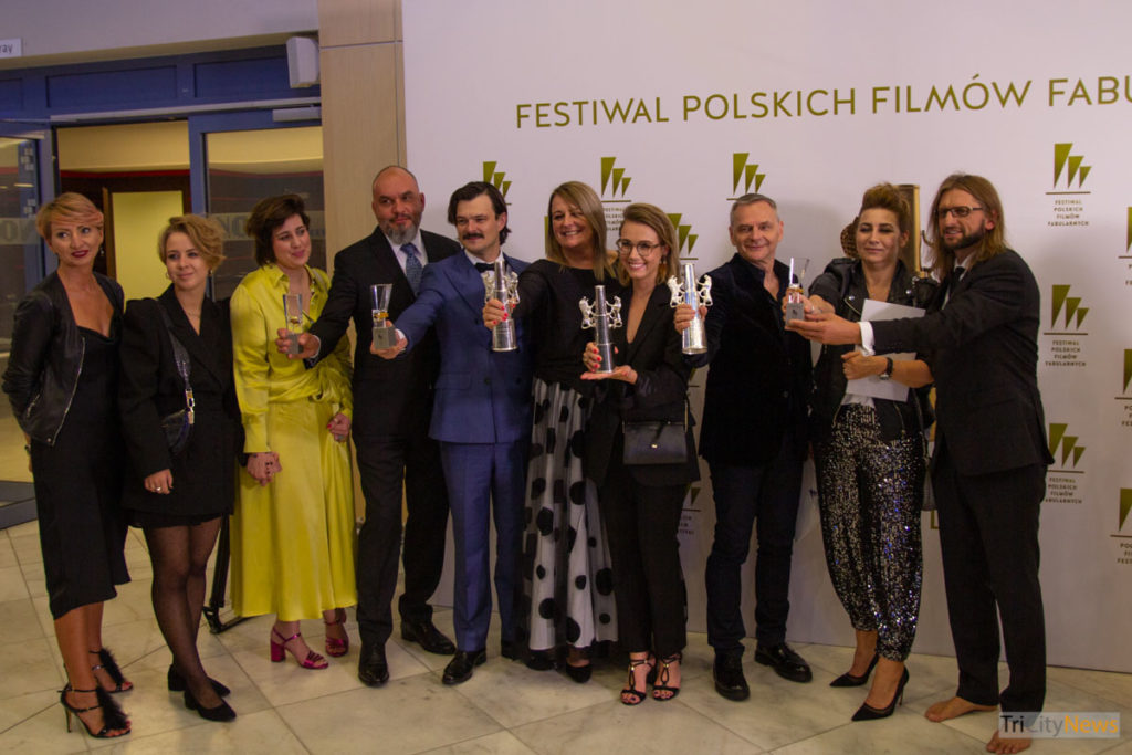 Icarus. The Legend of Mietek Kosz crew at The 44th Polish Film Festival in Gdynia, photo: Jakub Wozniak/Tricity News