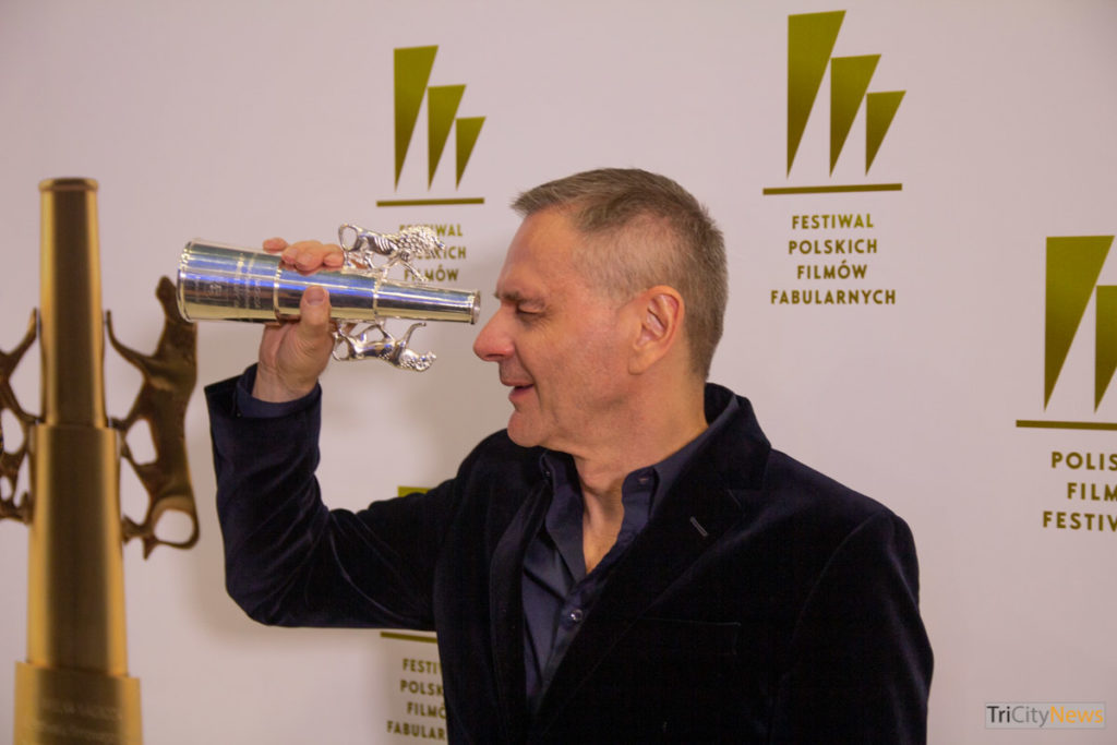 Maciej Pieprzyca at the the 44th Polish Film Festival in Gdynia, photo: Jakub Wozniak/Tricity News