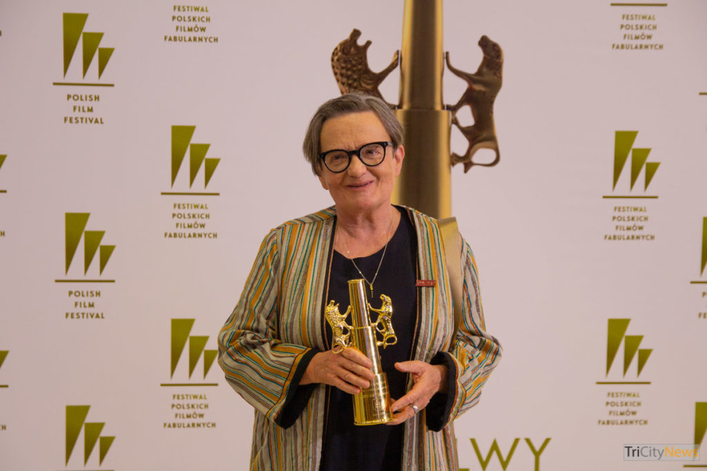 Agnieszka Holland at the the 44th Polish Film Festival in Gdynia, photo: Jakub Wozniak/Tricity News