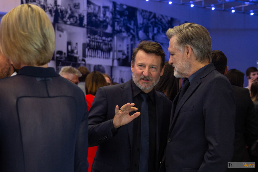 Bill Pullman and Robert Wieckiewicz at the 44th Polish Film Festival in Gdynia, photo: Julita Pietron/Tricity News