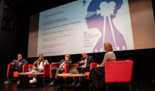 Press conference before the 44th Polish Film Festival in Gdynia, photo: Karolina Ptaszynska/Tricity News