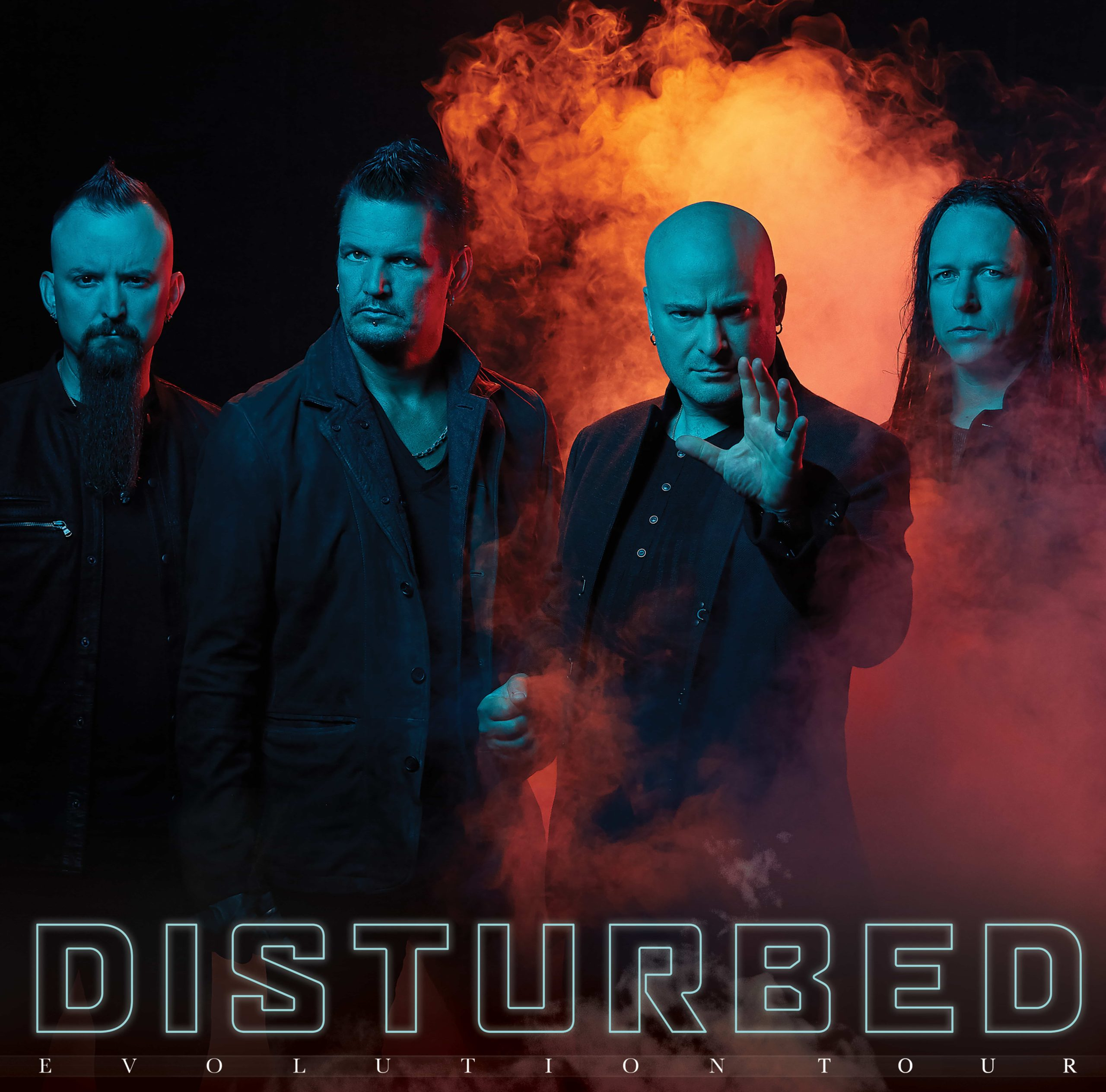 Disturbed Poster, source: Ergo Arena