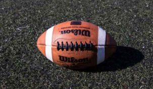 American Football ball, photo: Jakub Wozniak/Tricity News