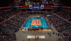 Inside Ergo Arena, photo: Jakub Wozniak/Tricity News