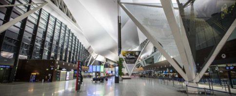 Empty airport in Gdansk, photo: Jakub Wozniak/Tricity News